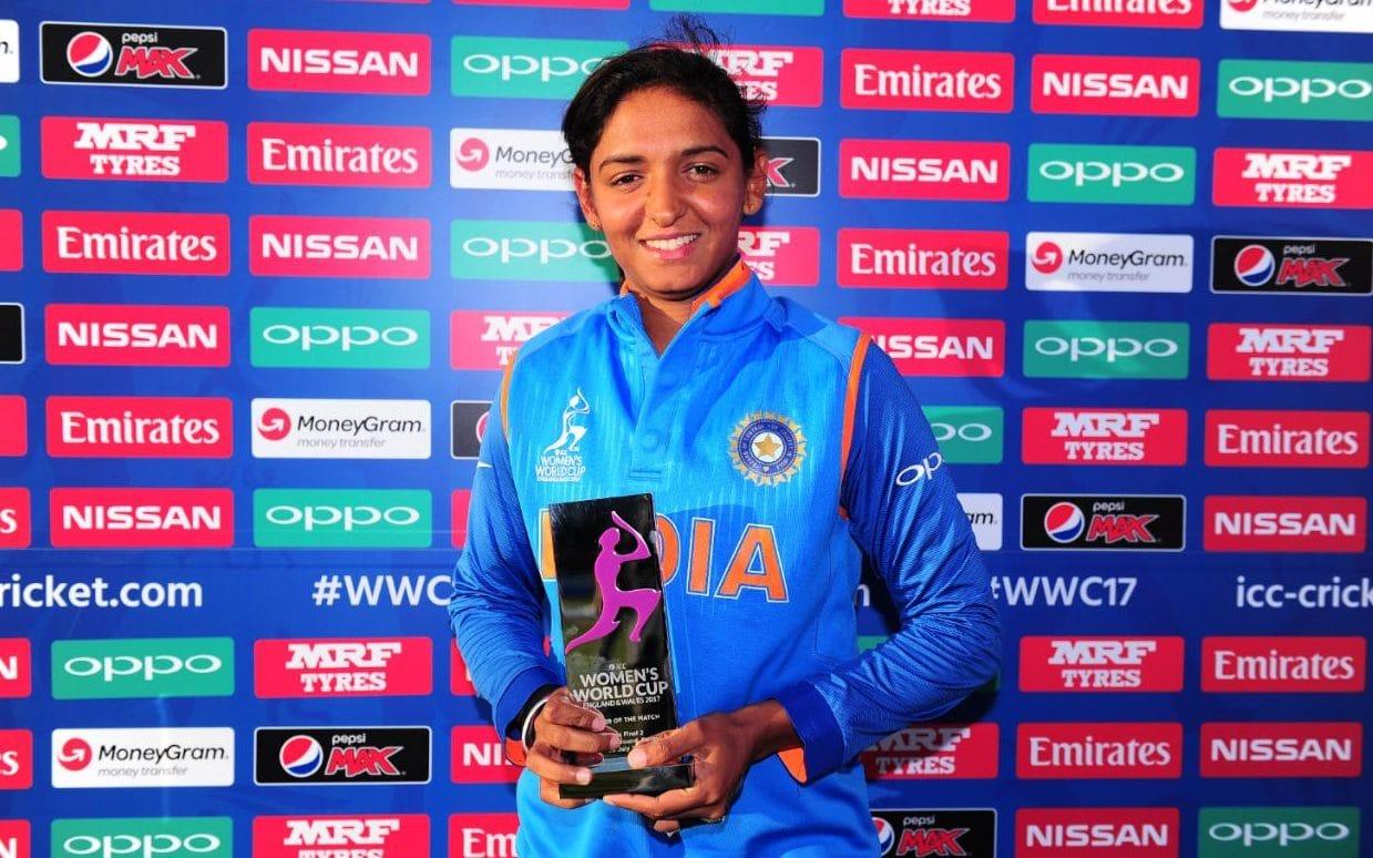 Harmanpreet Kaur: Big Bash ICC Woman World Cup 2017