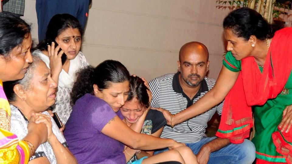 Gauri Lankesh Family after her murder