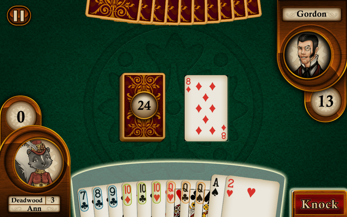 free online rummy card games