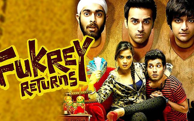 Fukrey Returns Movie review and story