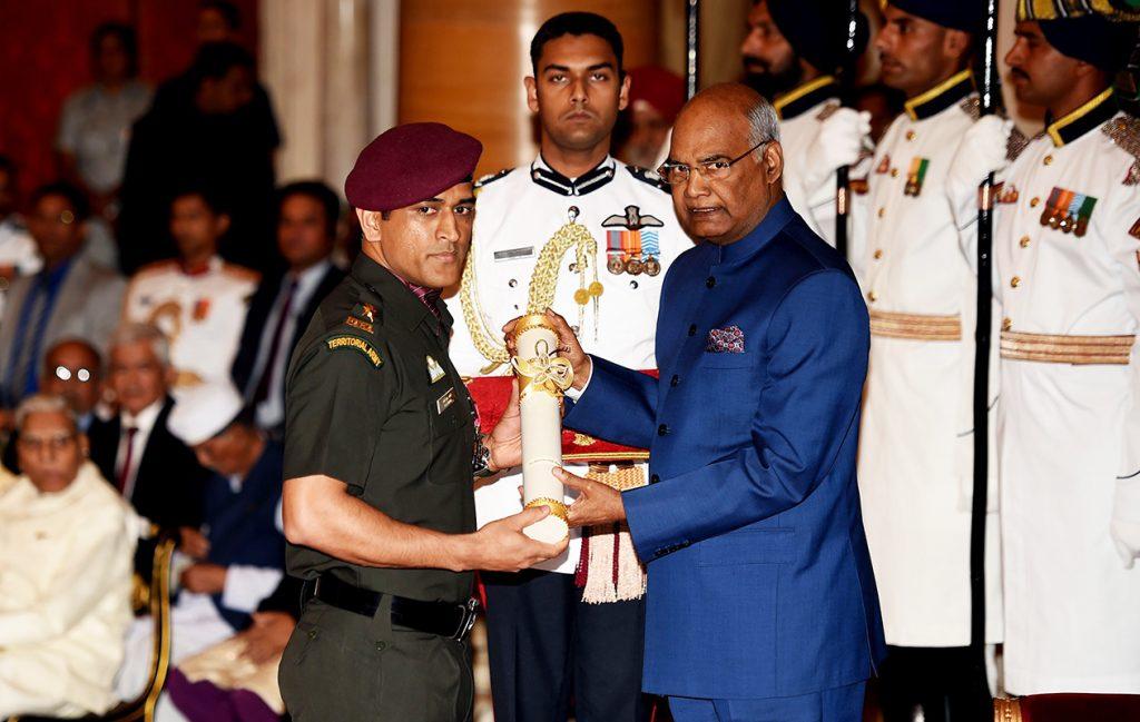 Mahendra Singh Dhoni also got Gandhi Khel Ratna Award