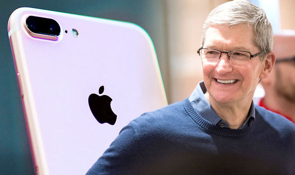 Cook is the Chief Executive Officer of Apple
