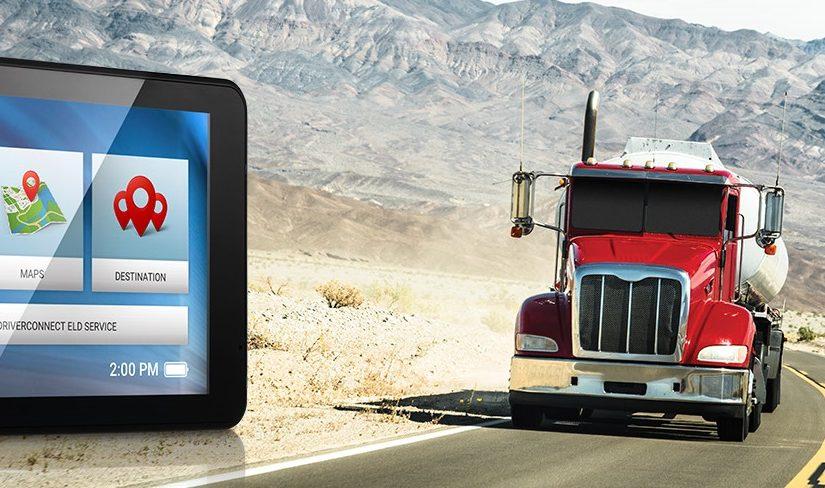 GPS for commercial trucks