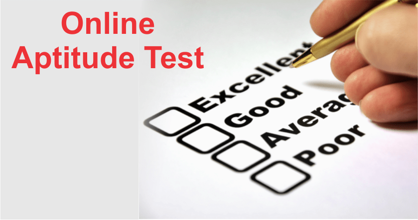 online aptitude test for career selection