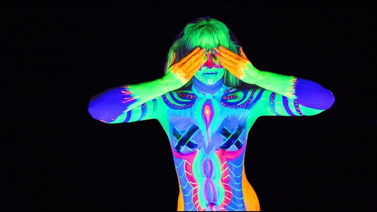 neon body paint ideas